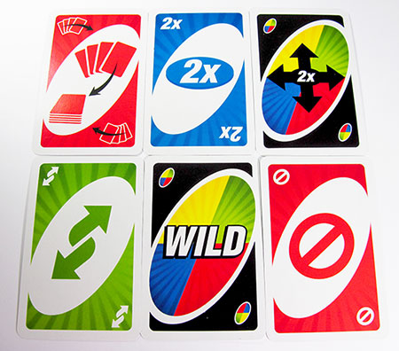 new uno attack action cards