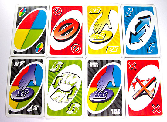 uno attack action cards