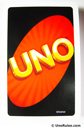 Uno card back