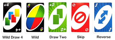 uno action cards