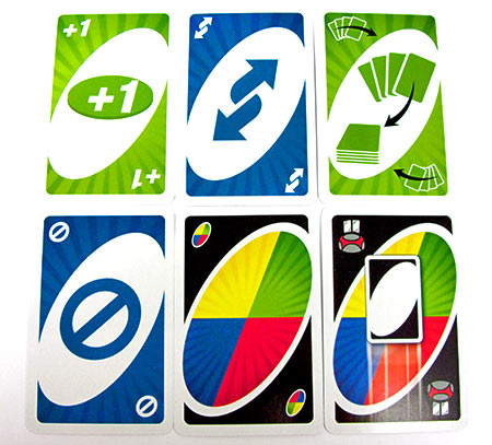 uno blast action cards