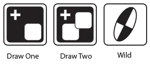 uno dice action symbols