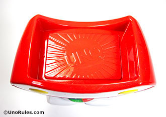 uno roboto discard plate and tray