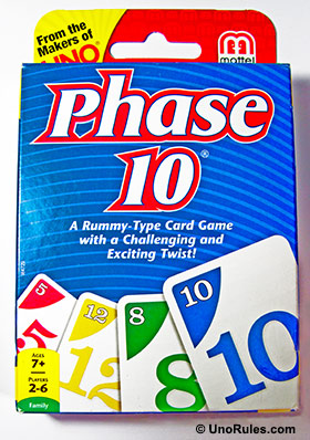 phase 10 rules uno rules