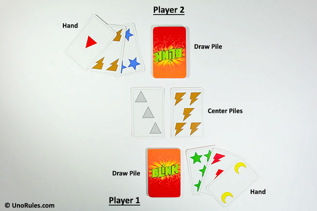 blink game card layout