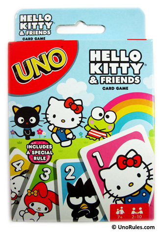 uno hello kitty and friends