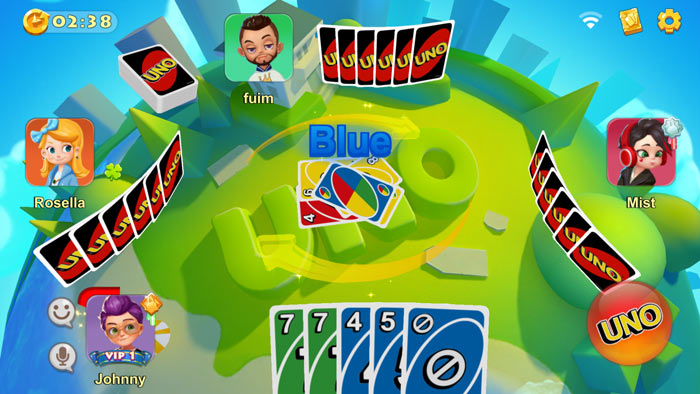 uno mobile app gameplay