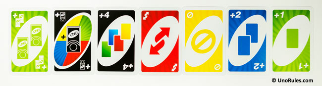 uno power grab action cards