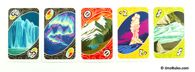uno wilderness action cards
