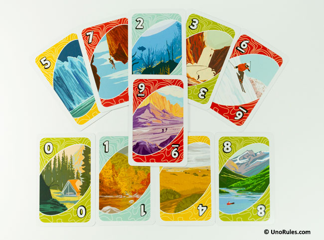uno wilderness cards