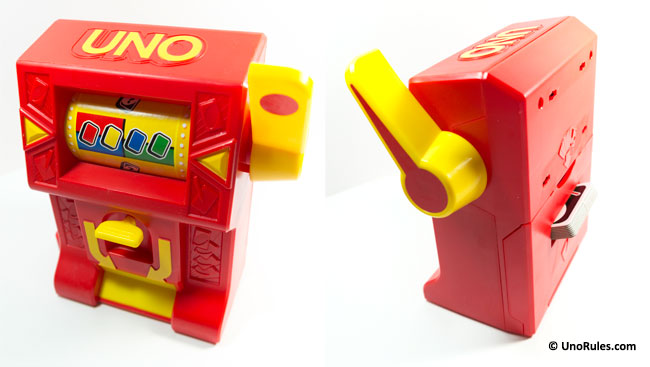 uno wild jackpot unit front and back view