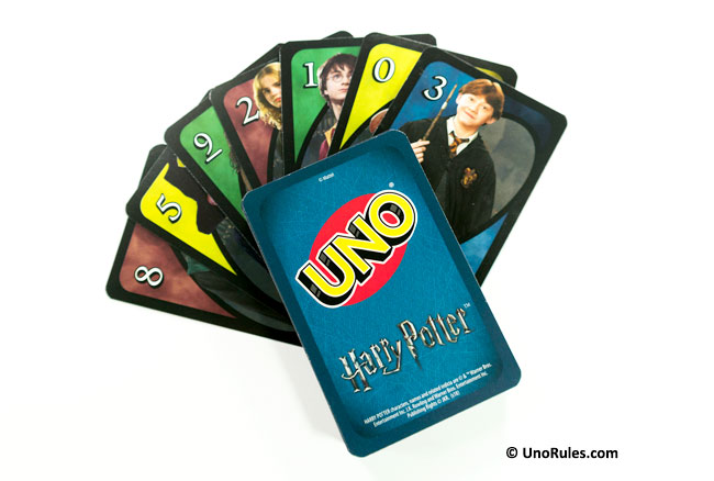 uno harry potter cards