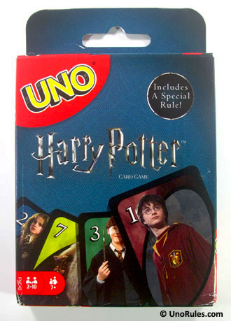 uno harry potter game