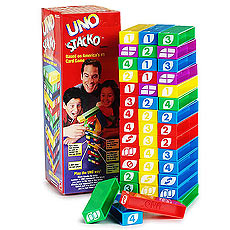 UNO Stacko Rules